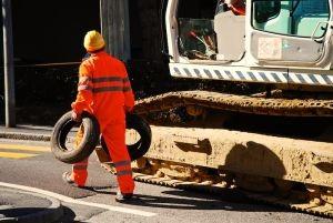 workerexcavator